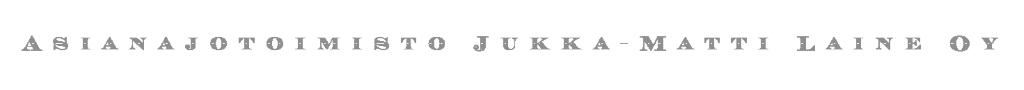 Asianajotoimisto Jukka-Matti Laine logo