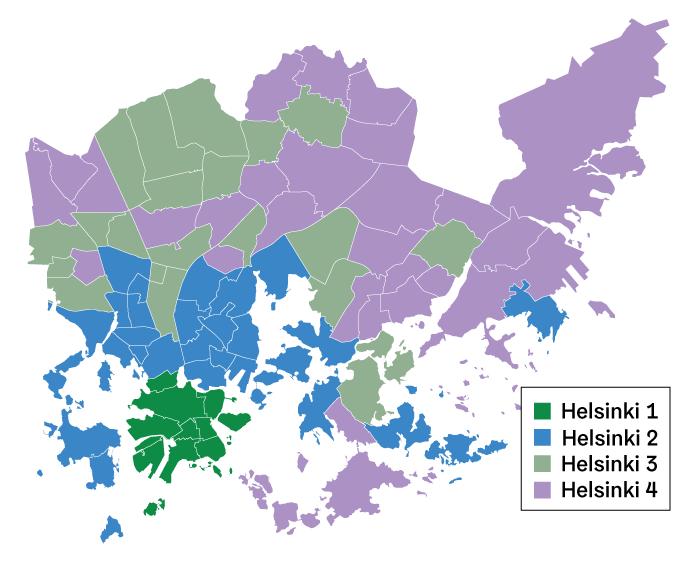 Helsingin kalleusalueet