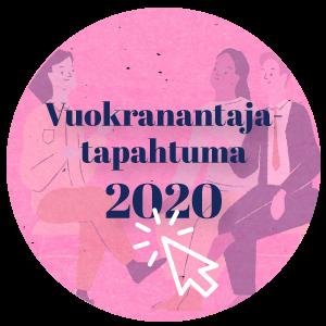 Vuokranantaja tapahtuma 2020